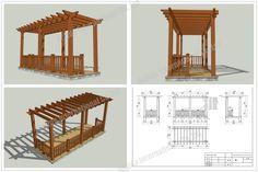Verandah Designs | Your Position: Home > PRODUCTS > WPC Pergola kits