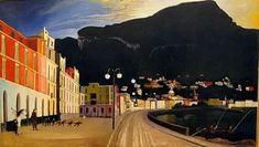 Fishing in Castellammare (Tivadar Csontvary Kosztka - ) Post Impressionism, Oil On Canvas, Modern Art, Fine Art, Stock Photos, Antiques, Gallery, Drawings, Illustration