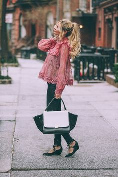 Barefoot Blonde wearing Zimmermann waysify