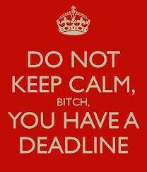 KEEP CALM, NOT!!!!