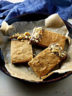 The Spoon and Whisk: Coffee and Walnut Shortbread