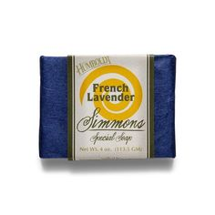Simmons Lavender Bar Soap is fragrant and soothing to skin and senses. With extra oils and lavender's fresh aroma you'll understand lavenders ability to eliminate nervous tension, relieve pain,disinfect andenhance blood circulation as well as sooth andtreat respiratory discomfort.    Ingredients:water, saponified: Pure Tuscan Olea Europaea (Olive) Fruit Oil; organic Elaeis Guineensis (Palm) Fruit Oil; and organic Cocos Nucifers (Coconut) Oil.    Essential Oils: French Lavender | Shop…