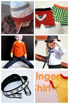 The Train To Crazy: DY(S)B: Boy Clothes Tutorial Roundup