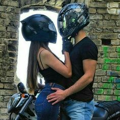 Pin by ninfa zg on couple ♡ Image Couple, Photo Couple, Love Couple, Couple Goals, Relationship Goals Pictures, Cute Relationships, Biker Chick, Biker Girl, Photos Amoureux