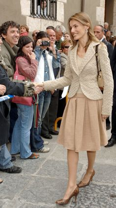 From Her Engagement to 2017, This Is Queen Letizia of Spain's Style Evolution