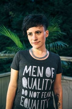 Men Of Quality Do Not Fear Equality Women's by OnlyChildApparel