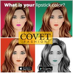 Love fashion? Come play Covet Fashion, the game for the shopping obsessed!  Choose from thousands of glamorous clothing and accessory items in addition to chic hair and makeup styles with Covet Fashion!  Express your unique style by shopping for fabulous items to fill your closet, putting together looks for different Style Challenges and voting on other players' looks!