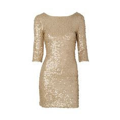Karen Sequin Dress ($30) ❤ liked on Polyvore featuring dresses, sequin cocktail dresses, sequin embellished dress, brown dress, brown cocktail dress and sequined dresses