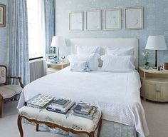 Feeling Blue - Design Chic #Homes #HomeDecorators #BedroomIdeas