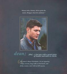 #Supernatural #DeanWinchester