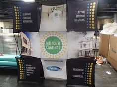 Portable Backlit Pop up Booth