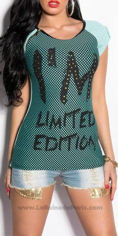 Camiseta Emiko menta