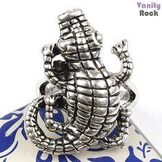 Anel Reptile  Unissex  Loja Online: www.vanityrock.com.br
