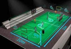 Futwall, fusión entre deporte y tecnología http://blgs.co/fQ5rJb