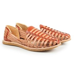 71587e112fdb Authentic Handwoven Huarache Vegetable Tanned Leather Upper and Footbed  -Polyurethane Midsole for Cushion -Rubber Sole for Traction -Handmade In  Mexico