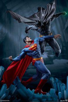 DC Comics Batman Versus Superman Statue by Sideshow! - - DC Comics Batman Versus Superman Statue by Sideshow! Batman Vs Superman, Batman Versus, Marvel Versus Dc, Marvel Dc, Marvel Comics, Batman Quotes, Dc Comics Art, Classic Comics, Sideshow Collectibles
