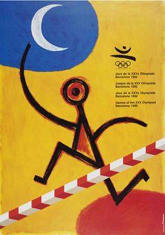 Poster Olimpíadas Barcelona 1992