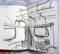 MHBD's Blog: Travel Drawings