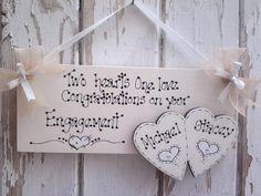 Wooden Engagement Craft