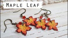 Polymer Clay Maple Leaf Tutorial || Maive Ferrando