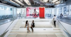 Media is the Message: IHeartMedia's Headquarters by A+I and Beneville Studios | Projects | Interior Design