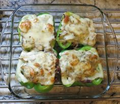 Featured Recipe of the Week: Philly Cheesesteak Stuffed Peppers!