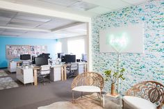 Make An Entrance - See Inside Lonny's New Airy Office Space - Photos