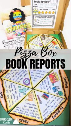 Book report writing activities for Kindergarten, first and second grade. Book Report Projects, Reading Projects, Book Projects, Reading Activities, Teaching Reading, 4th Grade Books, 4th Grade Ela, 4th Grade Reading, First Grade Classroom