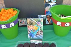 Teenage Mutant Ninja Turtles Birthday Party Ideas | Photo 6 of 9 | Catch My Party