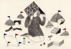 Amélie Fontaine illustration