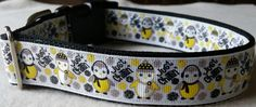 Winter Penguins Collar (large) by dlkompare on Etsy