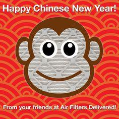 It's Chinese New Year! The Year of the Monkey. #HappyChineseNewYear