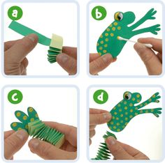 Dangly Frog's Legs | Craft Ideas at Patticrafts