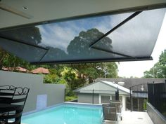Helioshade Cassette Awning with Vario-Valance by Blinds Awnings, via 500px