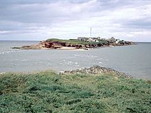 West Kriby - walk out to Hilbre Island - but watch the tide!