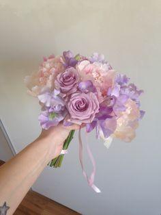 bouquet matrimonio wedding Flowers bride sposa nozze fiori peonie rosa pink lilla violet