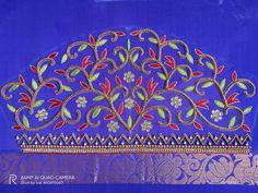 Black Blouse Designs, Best Blouse Designs, Simple Blouse Designs, Aari Embroidery, Embroidery Works, Hand Embroidery Designs, Aari Work Blouse, Hand Work Blouse Design, Maggam Works