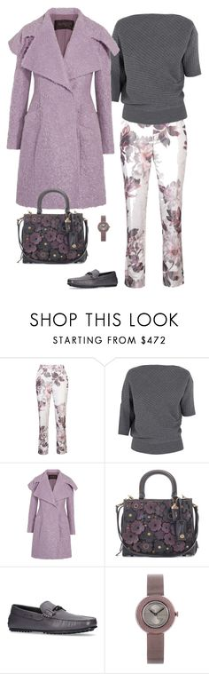 """""""Untitled #1775"""" by stacy-just-stacy ❤ liked on Polyvore featuring Brock Collection, J.W. Anderson, Giambattista Valli, Coach, Tod's and Gucci"""