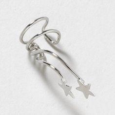 Falling Star Ear Cuff go on clairs.com guys awsome!!
