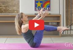 Strengthen and lengthen every major muscle group in the comfort of your own home. And that's where this video comes in. In less than 10 minutes, you'll get an effective abs workout that doesn't involve a single sit-up. The yoga-inspired moves from Grokker trainer and yoga teacher Steffy White will help you improve core stability, strength, and balance. Plus, after all that slow and steady breathing, you'll finish feeling relaxed—not burned out.