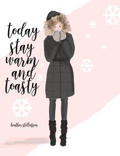 Winter style. Heather Stillufsen