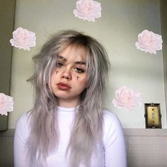 Got an early bday present from 💕 Pale Aesthetic, Aesthetic Hair, Aesthetic Grunge, Aesthetic Fashion, K Fashion, Grunge Fashion, Grunge Look, Ootd, Tumblr
