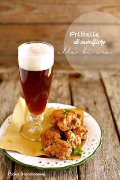 Frittelle di cavolfiore alla birra | Cucina Scacciapensieri