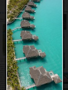 Bora Bora  Condos.   I'll take one with a view.  Oh right..they all have views and everything else I want.
