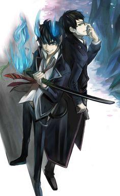 Ao no Exorcist  Okumura Rin  Okumura Yukio