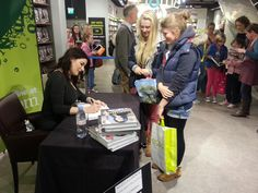 Nigella Lawson book signing in Donegall Place, Belfast - Nov 2012
