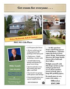 Real Estate now for sale at $347,500! Come and view this three bedroom, three bath, 2470 square foot spacious two story Forest Ridge day ranch style home on a large .28 acre lot located at 9612 NE 12th Place, Vancouver, Washington 98664 in Clark County area 20 which is the NE Heights or Burton Road area in Vancouver. The RMLS number is 16404144. It has two wood burning fireplaces and a territorial view. It was built in 1989 and has an attached, oversized two car garage. The local high…