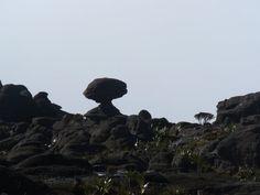 En la cima del Roraima
