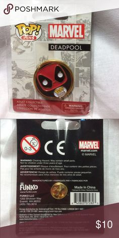 DEADPOOL Pin New New mini pin . DEADPOOL . Accessories