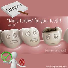 Thank you Eva for your lovely review about @LivingLibations dental care products. A must read when you suffer with teeth- or gum-issues! 〰 Wilma ❤️ → http://dutchhealthstore.com/testimonial/ninja-turtles-teeth/